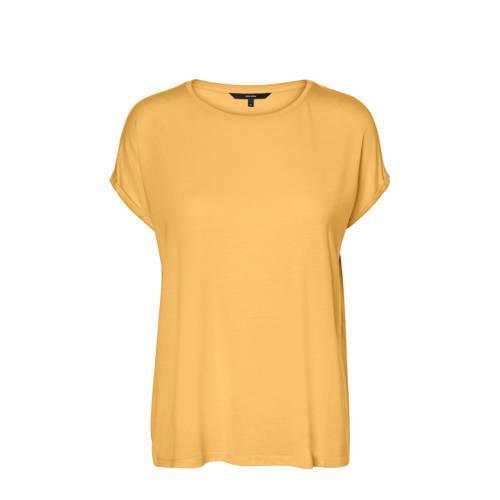 AWARE by VERO MODA T-shirt VMAVA geel