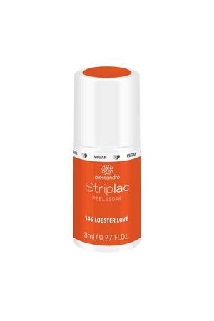 gelnagellak Striplac Peel or Soak - 146 - Lobster Love