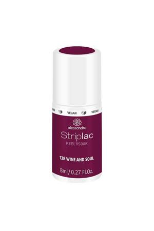 gelnagellak Striplac Peel or Soak - 138 - Wine and Soul