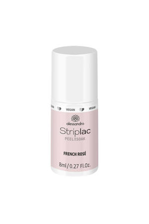 French Manicure gelnagellak - French Rosa
