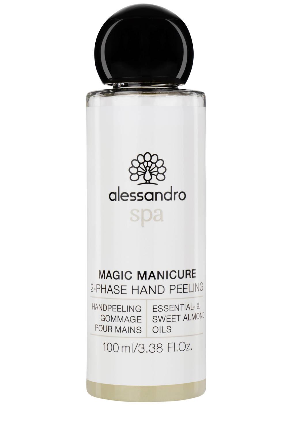 Alessandro Spa Magic Manicure 2-Phase handscrub