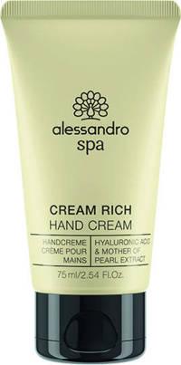Alessandro Spa Cream Rich handcrème