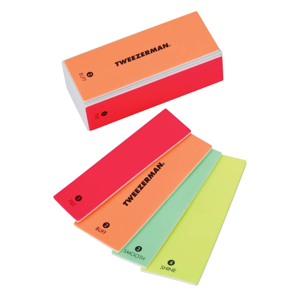Tweezerman Neon Hot Block nagelvijl