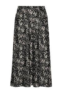 VERO MODA rok met slangenprint zwart/wit, Zwart/wit