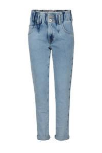 Jill & Mitch by Shoeby Mom jeans Paperbag lichtblauw, Lichtblauw