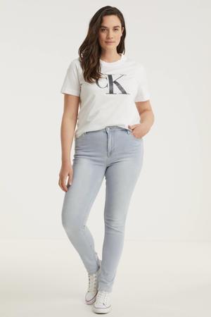low waist skinny jeans JANE light denim