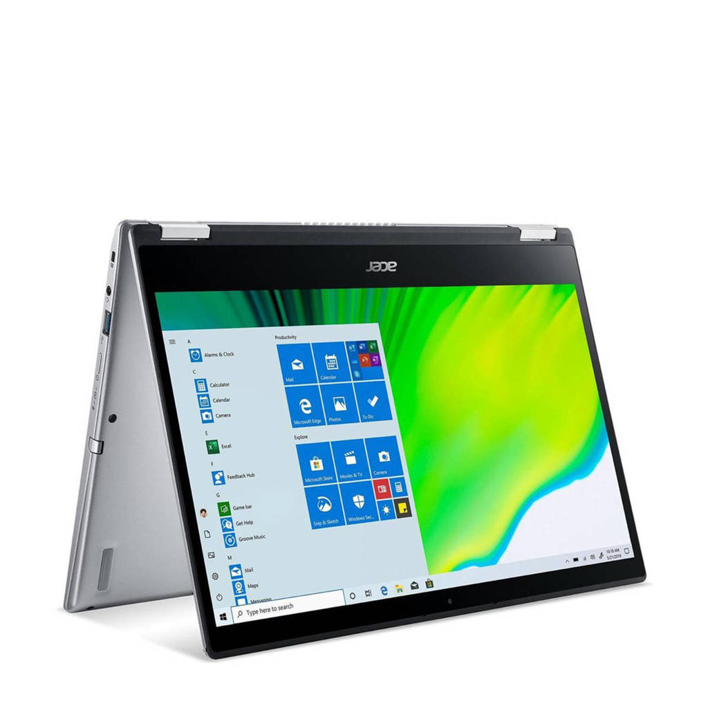 Acer Spin 3 SP314-21-R07J 14 inch Full HD 2-in-1 laptop, Zilver