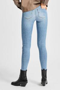 SELECTED FEMME skinny jeans met biologisch katoen SLFSOPHIA medium blue denim, Light denim