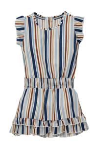 LEVV Little gestreepte jurk Nia lichtblauw/multicolor, Lichtblauw/multicolor