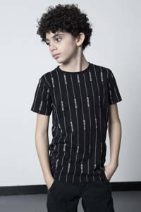 LEVV Boys gestreept T-shirt Malin zwart/wit, Zwart/wit