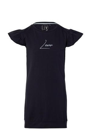 T-shirtjurk Mace met logo donkerblauw