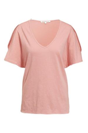 T-shirt lichtroze