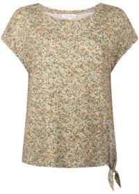 Tramontana T-shirt met all over print groen, Groen