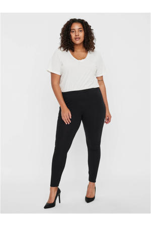 plus size legging - set van 2 zwart