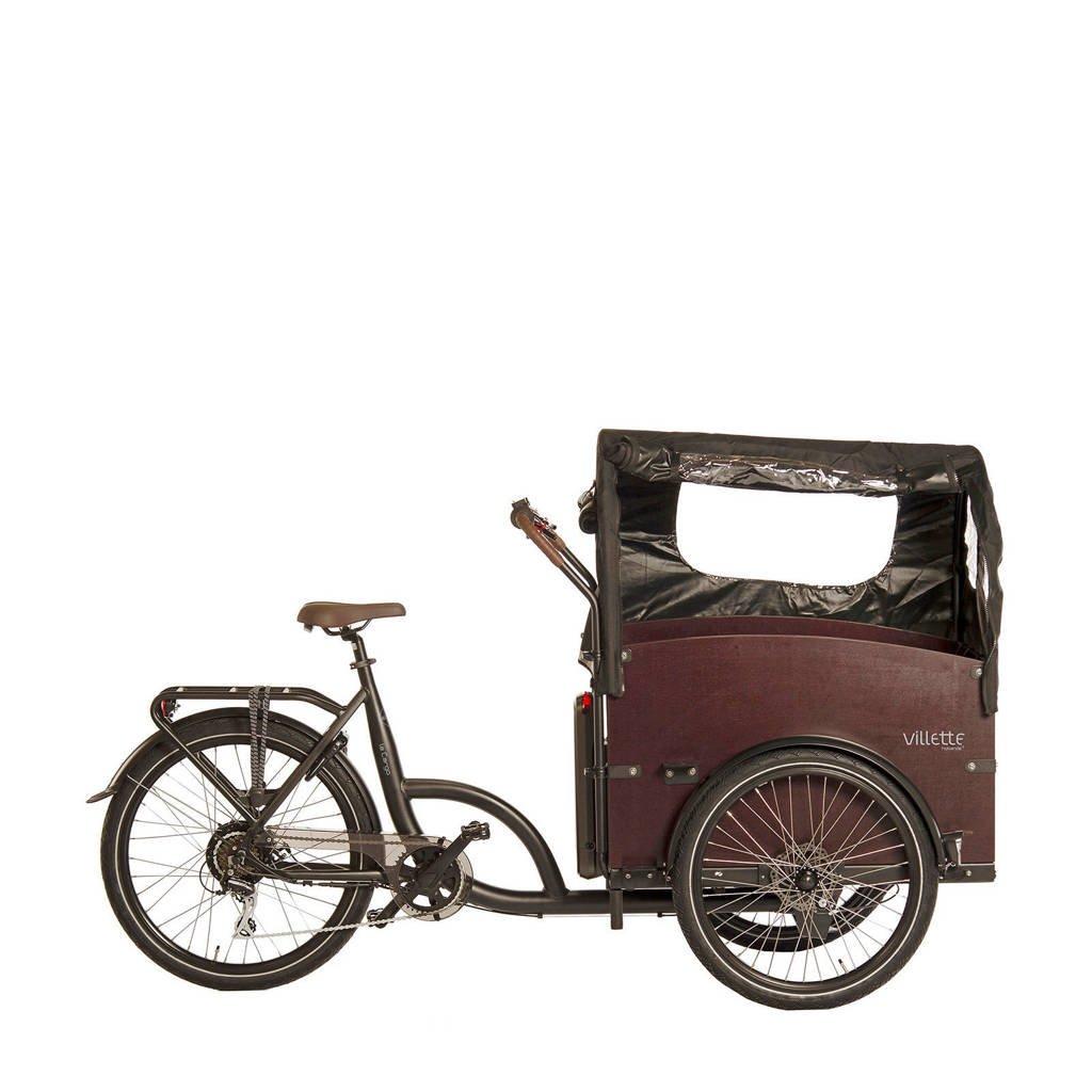 Villette le Cargo elektrische bakfiets 56 cm 4-zits bak