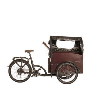 le Cargo elektrische bakfiets 56 cm 4-zits bak