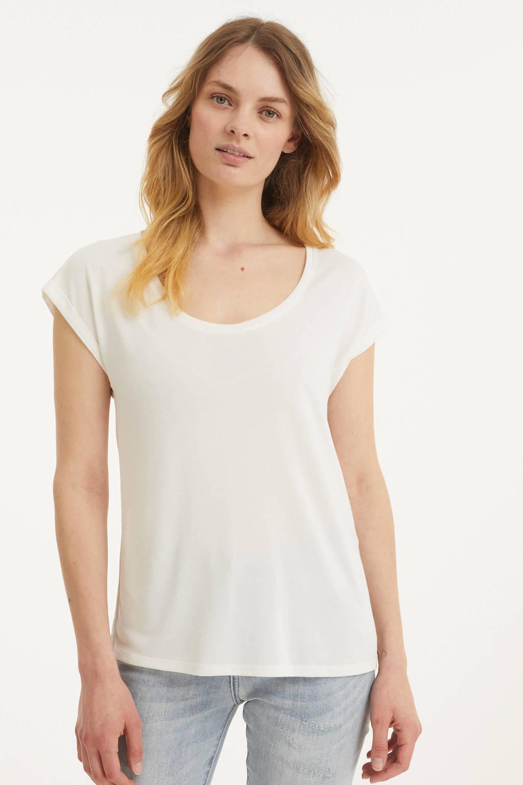Esqualo T-shirt wit, Wit