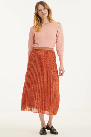 rok met all over print en glitters terra