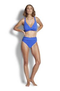 Seafolly omslag bikinibroekje blauw, Blauw