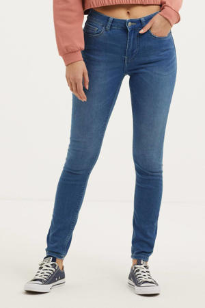 regular waist skinny jeans JDYNEWNIKKI light blue denim