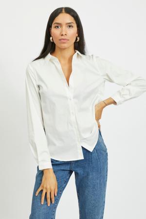blouse VIGIMAS met biologisch katoen wit