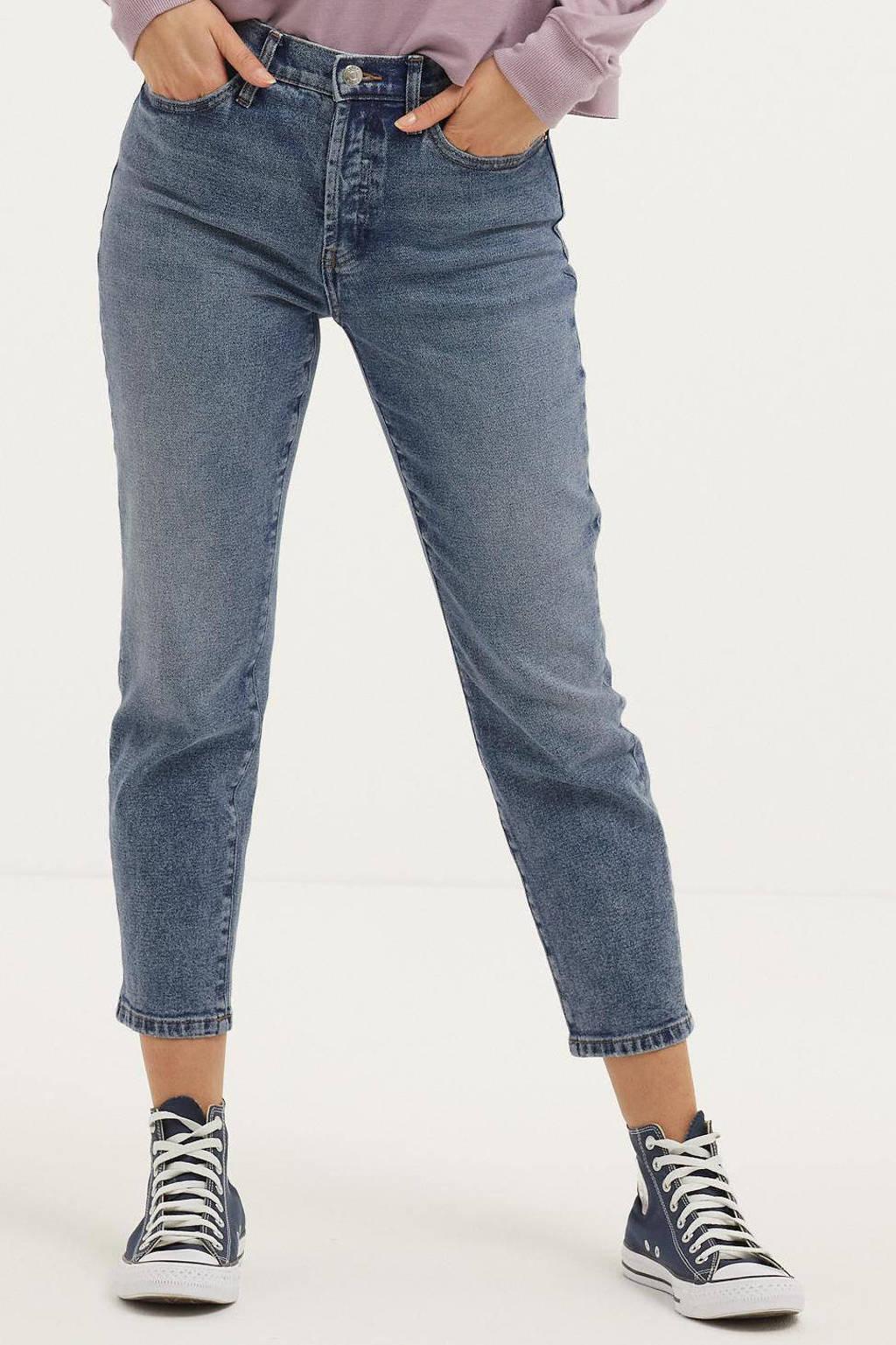 ONLY high waist slim fit jeans ONLJOSIE  medium blue denim, Medium blue denim