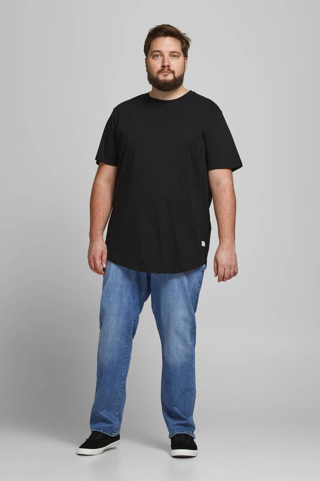 JACK & JONES PLUS SIZE regular fit jeans Mike Plus Size stonewashed, Stonewashed