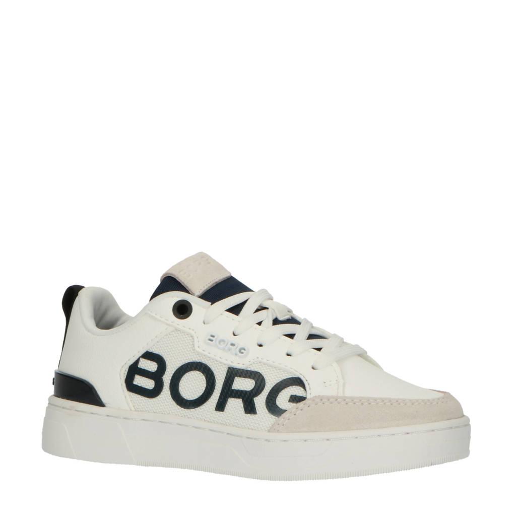 Björn Borg T1060 LGO K  sneakers wit/blauw, Wit/blauw