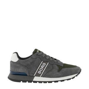 R455 PRF M  sneakers grijs/olijfgroen