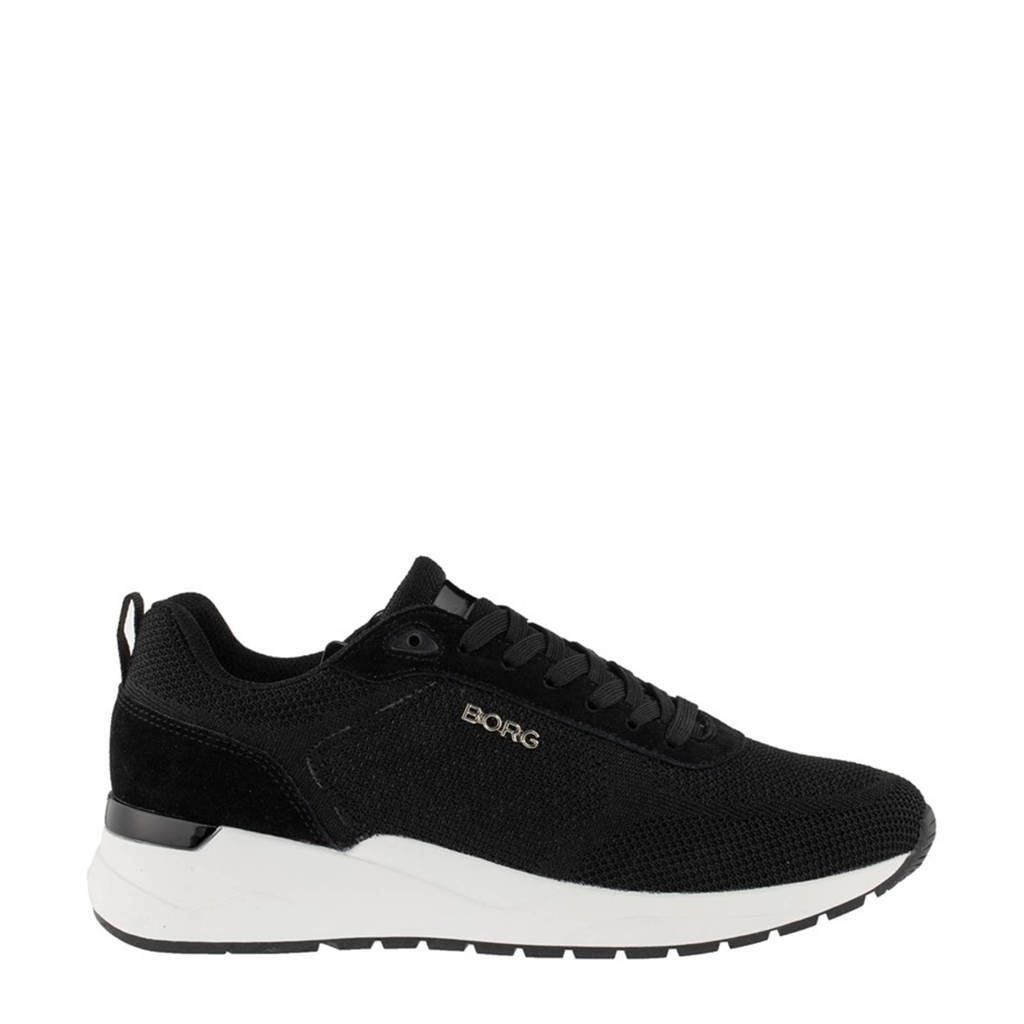 Björn Borg R1900 KNT M  sneakers zwart, Zwart