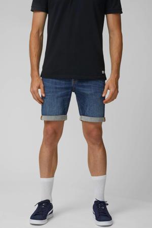 regular fit jeans short dark blue
