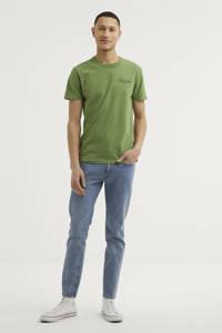 Kings of Indigo T-shirt Darius van biologisch katoen groen, Groen