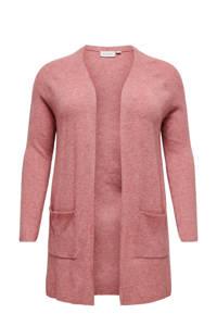 ONLY CARMAKOMA vest CARATIJA roze, Roze