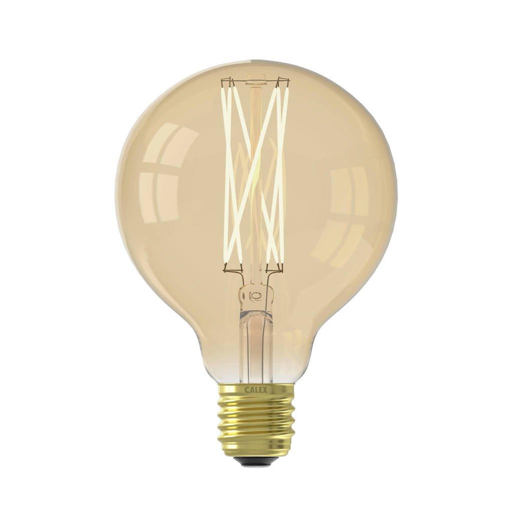 Calex LED lichtbron E27 4W Ø9,5cm, Goud