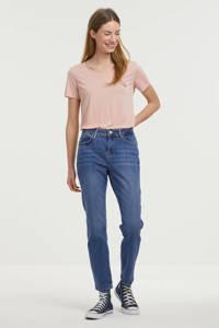 NOISY MAY slim fit jeans NMOLIVIA blauw, Blauw