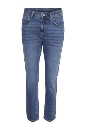 slim fit jeans NMOLIVIA blauw