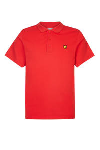 Lyle & Scott polo rood, Rood
