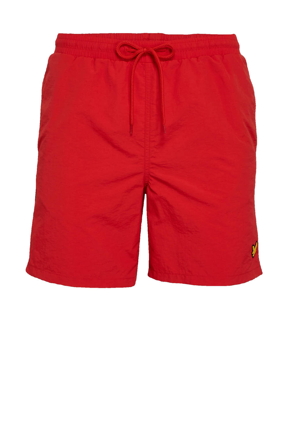 Lyle & Scott zwemshort rood, Rood