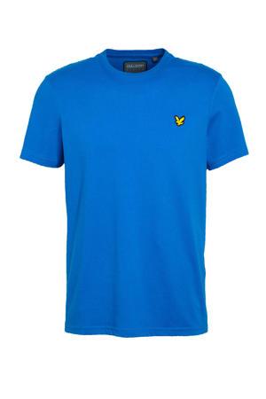 T-shirt kobaltblauw
