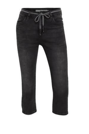 skinny capri jeans zwart