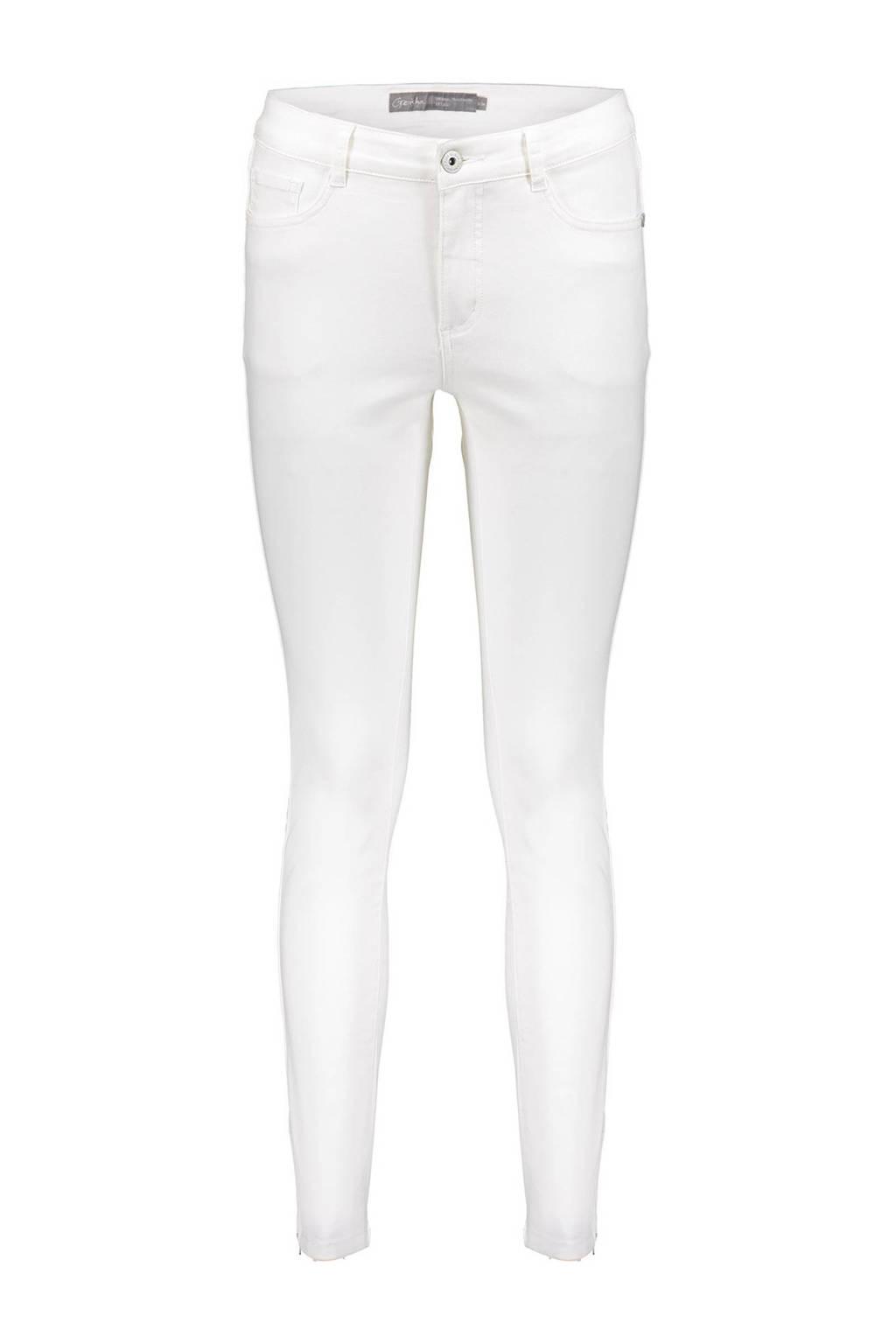 Geisha skinny jeans wit, Wit