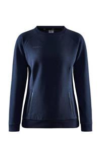 Craft sportsweater donkerblauw, Donkerblauw