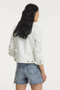 Geisha spijkerjasje wit, Wit