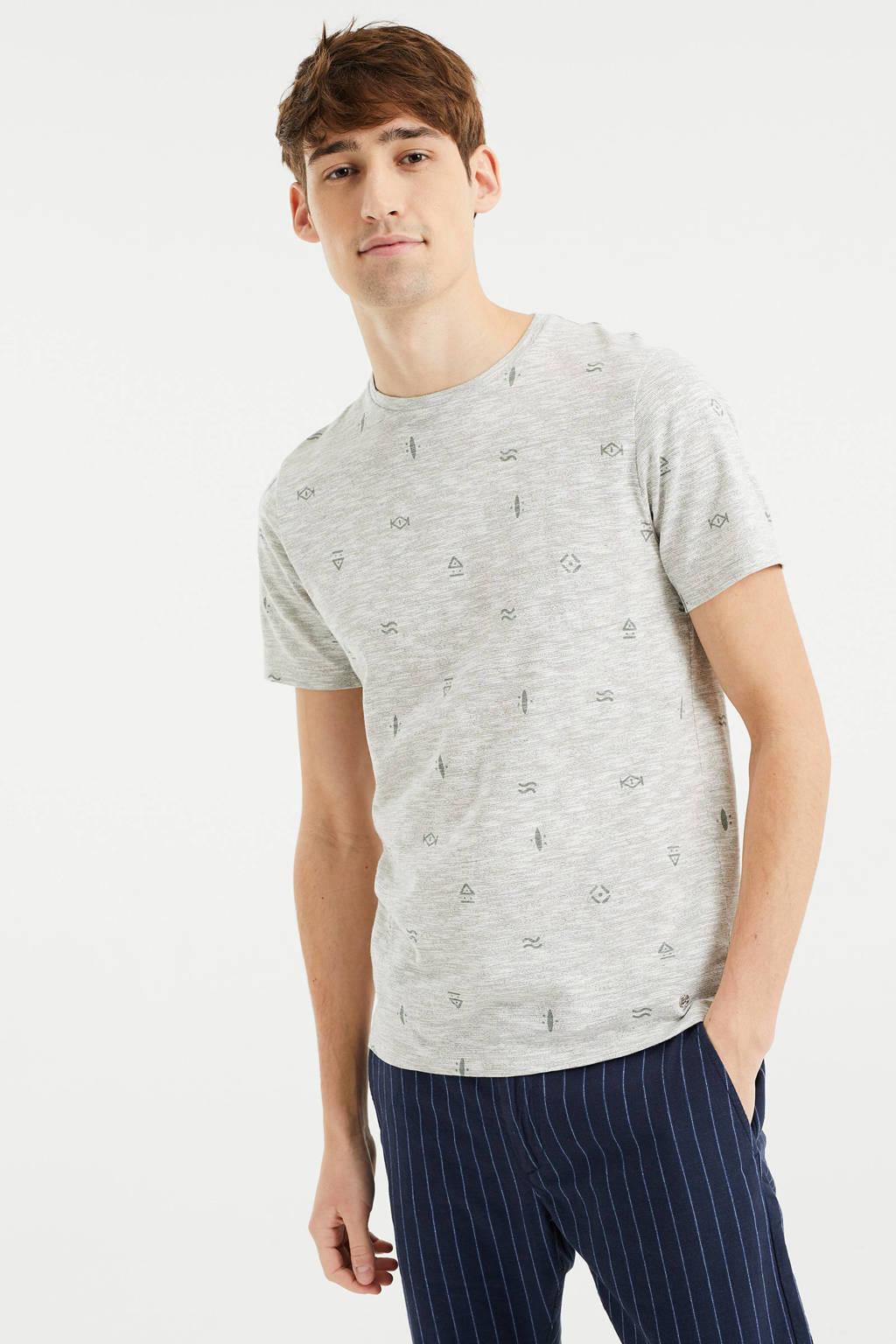WE Fashion gemêleerd T-shirt green bay
