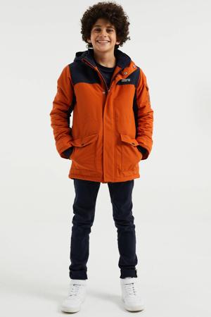 winterjas oranje