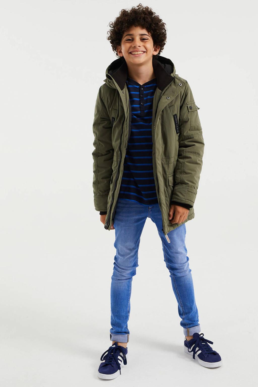 WE Fashion  winter parka kaki, Kaki