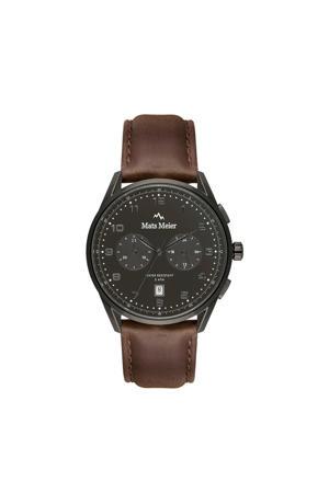Mont Vélan Chrono horloge bruin/zwart- MM10005