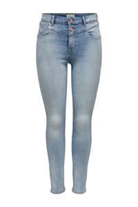 ONLY high waist skinny jeans ONLCHRISSY blauw, Blauw
