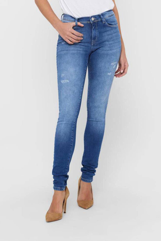 ONLY skinny jeans ONLSHAPE light medium blue denim, Dark denim