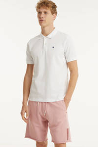 Scotch & Soda regular fit sweatshort van biologisch katoen roze, Roze